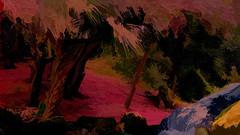 Colors Of Home (Mike Pesseackey (UAGUY1)) Tags: florida home art digitalart photoshop nikond7500 layers color panamacitybeachflorida usa trees palmtrees golf golfcourses fun