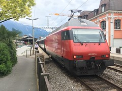 460.037-5 Montreux 23-05-18. (Tin Wis Vin) Tags: locos railways montreux switzerland sbb fss cff