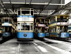 SST-Cars-1731-T (Malcolm M Fraser) Tags: southshields tram deanroad depot