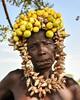 Mursi Woman (Rod Waddington) Tags: africa african afrique afrika äthiopien ethiopia ethiopian ethnic etiopia ethnicity ethiopie etiopian omovalley omo outdoor omoriver outdoors mursi tribe traditional tribal culture cultural woman shells tree portrait people mago