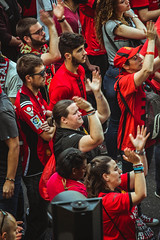 _MG_0848 (sergiopenalvagonzalez) Tags: rcdmallorca futbol football ball people ambiente palma palmademallorca aficion pasion rojo negro ib3 diariodemallorca sergiopenalvagonzalez sergiopenalvag gente emocion nervios ascenso alegria