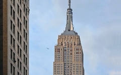 empire state building (poludziber1) Tags: street streetphotography skyline summer sky city colorful cityscape color clouds ny nyc newyork manhattan architecture building travel urban