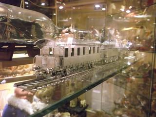 Silver HO Train (3)