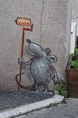Twopy_5768 rue de l'Aude Paris 14 (meuh1246) Tags: streetart paris twopy ruedelaude paris14 animaux rat