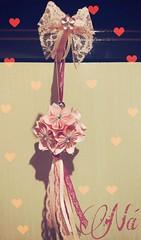Kusudama 🌸❤️ (ArtesaNá) Tags: kusudama origami flordeorigami sakura dobradura artesanatoempapel artesanato