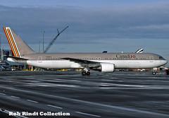 Canadian Airlines B767-38E/ER C-GDUZ (planepixbyrob) Tags: asiana canadianairlines canadian boeing 767 767300 cgduz yvr vancity vancouver kodachrome