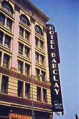 Barclay Hotel - Los Angeles California - AKA - Van Nuys  - (Onasill ~ Bill Badzo - 54M View - Thank You) Tags: barclay hotel residential low income los angeles la california 1897 neon sign van nuys downtown nrhp landmark telephone oldest continuous operation commercial architecture style beaux arts romanesque lobby murals terra cotta onasill artglass fourth main street maintains old period attractionsite vintage photo picture vertical neonsign