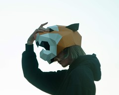 🐯Wear your own tiger mask 🐅#wildcats #photo #etsy #paper craft #art #polygons #diy #Etsy seller  #paper tige#tigertiger #costume #shamecover #origami # #tiger mask #paper head #papermask #paperart #paperdesign #facemask (SHAMEcover) Tags: wildcats photo etsy paper craf art polygons diy selle tige tiger costume shamecover origami mas hea papermask paperart paperdesign facemask