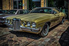 BONVILLE 455 (Peter's HDR-Studio) Tags: petershdrstudio hdr bonville classiccar car auto klassiker green grün
