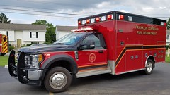 Medic 192 (Central Ohio Emergency Response) Tags: franklin township ohio fire department ambulance medic ems truck ford horton f450