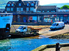 Scotland West Coast Largs car ferry Loch Shira loading cars for the island of Cumbrae 28 May 2018 by Anne MacKay (Anne MacKay images of interest & wonder) Tags: scotland west coast largs slipway car ferry loch shira loading cars island cumbrae sea buildings xs1 28 may 2018 picture by anne mackay caledonian macbrayne calmac