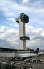JFK Airport Tower (MJ_100) Tags: jfk jfkairport airport aviation nyc newyork newyorkcity queens tower controltower