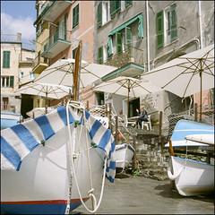 After the Rain,, - Riomaggiore (magnus.joensson) Tags: mediterranean rolleiflex 35 carl zeiss tessar 75mm kodak porta 400 c41 6x6 medium format italy riomaggiore