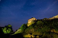 Salgó by night (Dedi57) Tags: hungary collections salgóvára astrophoto fotósmaraton stars night bestof castle salgóbynight medves salgótarján nógrádcounty hu