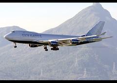 B747-467/F | Sky Gates | VP-BCH | HKG (Christian Junker | Photography) Tags: nikon nikkor d800 d800e dslr 70200mm aero plane aircraft boeing 747467f 747400f 747400 747 74f 74y b744 skygatesairlines skygates skypath u3 say u39855 say9855 skypath9855 vpbch cargo freighter heavy widebody jumbo arrival landing 25r fog haze airline airport aviation planespotting 30804 1255 308041255 hongkonginternationalairport cheklapkok vhhh hkg clk hkia hongkong sar china asia lantau terminal2 t2 skydeck christianjunker flickraward flickrtravelaward zensational hongkongphotos worldtrekker superflickers