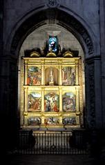 Astorga (León-España). Catedral. Capilla de Retablo Hispanoflamenco (santi abella) Tags: astorga león castillayleón españa catedraldeastorga retablos