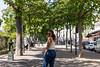 Regard / Montmartre / Paris (moltes91) Tags: woman fille beautiful paris parisienne nikon d7200 nikkor 35mm f18 trees shooting