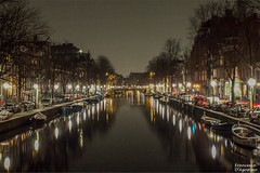 Luci ad Amsterdam (Francesca D'Agostino) Tags: notte night luci lights canale channel colori colors amsterdam holland