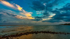 Sunset from Beach House Restaurant (Thanks for 1.2 million views) Tags: poipu kauai hawaii sunset beachhouse