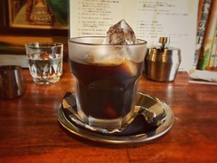 Iced Coffee (moaan) Tags: coffee icedcoffee coffeelover coffeeaddicts indoor relax relaxed cozy cafe cafeatmosphere closeup depthoffield focusonforeground selectivefocus bokeh bokehpotography iphone7 iphonography iphone utata 2018