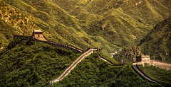 THE great wall (Mystikopoulos) Tags: thegreatwall wall greatwall china asia war mongolia separation history build empror synasty dynasty famous chine pekin beijing travel panorama landscape