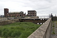 Banks of the River Humber (brianarchie65) Tags: lordlinebuilding dereliction rubble litter lapollution pollution scrap steps railings water waste canoneos600d geotagged brianarchie65 flickrunofficial flickruk flickr flickrcentral flickrinternational unlimitedphotos ngc