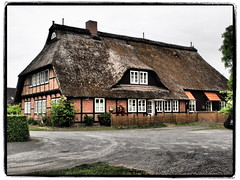 Vierländer-Fachwerk (1elf12) Tags: hamburg germany deutschland fachwerk halftimbered colombages rieckhaus museum curslack