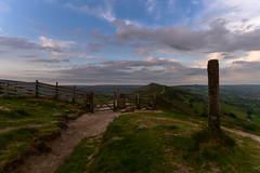 The last post (trojanhorse1956) Tags: tor mam district peak derbyshire clouds fence gate ridge hill nikon landscape