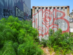 (gordon gekkoh) Tags: peace rehab rveng barge oakland graffiti cma
