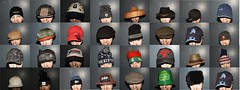 32 HATS (garydavidworthington) Tags: liverpool hat headwear fun creative colour costume cool cold collectables smileonsaturday hatsandco