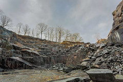Disused (Future-Echoes) Tags: 4star 2018 colours cumbria disused hodgeclosequarry old quarry rocks thelakedistrict trees southlakelanddistrict england unitedkingdom gb