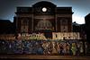 Metropolis in Stokes Croft, Bristol, UK (KSAG Photography) Tags: cinema urbandecay city urban street graffiti streetphotography night nightphotography bristol uk england unitedkingdom europe britain architecture history heritage hdrwideangle 35mm nikon