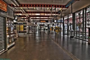 Train and bus station Zaandam Central.