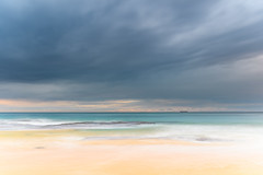 Overcast Morning Seascape (Merrillie) Tags: daybreak wamberalbeach sand sunrise sea centralcoast nature water morning surf overcast wamberal weather newsouthwales waves earlymorning nsw australia beach ocean landscape waterscape sky coastal clouds outdoors seascape dawn coast cloudy seaside