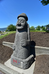 Since 1994 Port Metro Vancouver & Incheon Port Korea (D70) Tags: since 1994 port metro vancouver incheon korea gift similar sculptures commonly found jeju island serve dual function guardian boundary marker tradition derived native shamanism