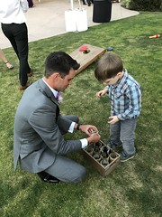 """Ryne Plays with Paul at Lauren Spejcher's Wedding • <a style=""""font-size:0.8em;"""" href=""""http://www.flickr.com/photos/109120354@N07/27567680947/"""" target=""""_blank"""">View on Flickr</a>"""