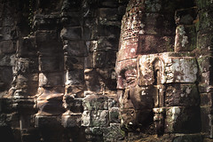 Closeup stone face of prasat Bayon temple, Angkor Thom Cambodia (Patrick Foto ;)) Tags: ancient angkor architecture art asia avalokiteshvara backgrounds basrelief bayon bodhisattva buddha buddhism cambodia close face famous gigantic grave historical holy khmer king landmark old pagoda people pilgrimage prasat prayer relief religion ruins sanctuary sculpture sightseeing smiling statue stone temple theravada thom tour tourism travel trip unesco up wat worship zen krongsiemreap siemreapprovince kh