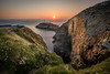 South Stack Sunset! (Nathan J Hammonds) Tags: sunset lighthouse south stack anglesey uk wales sea coast rocks birds flowers wild nature grass cliffs sky sun warm water hdr bracketed nikon d750 irex15mm beautiful seascape landscape photography