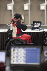 180605-D-DB155-012 (DoD News Photos) Tags: dodwg18 2018dodwarriorgames dodwarriorgames warriorgames woundedwarriors colorado coloradosprings dedication triumph overcomingadversity fortitude sports track field airrifle marksmanship wheelchairbasketball sittingvolleyball powerlifting cycling bicycling archery swimming rowing indoorrowing unitedstates