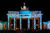 Berlin - Festival of Lights 2017 - Brandenburger Tor 2 (Walter Horstmann-Cholibois) Tags: berlin festival lights 2017 brandenburger tor deutschland germany alemania nightshot night