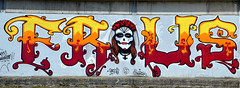 Street art (Philippe Haumesser Photographies (+ 6000 000 view)) Tags: art streetart artderue couleurs colors mur wall graffiti nikond7000 nikon d7000 reflex panoramique