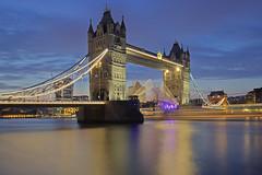 Prima che sia troppo tardi / Before it is too late (Tower Bridge, London, United KIngdom) (AndreaPucci) Tags: towerbridge uk london thames night andreapucci open cityoflondon