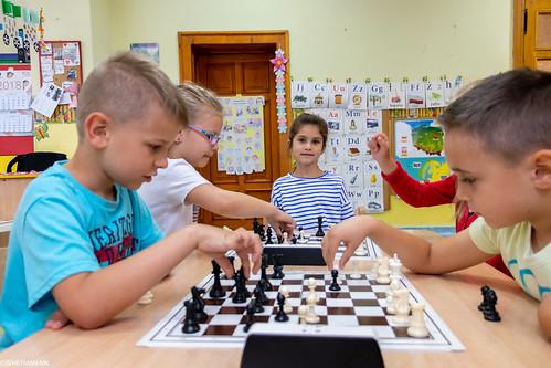V Turniej Szachowy o Mistrzostwo Przedszkola Miejskiego Nr 1-7