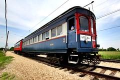 IMG_1554 (Laurence's Pictures) Tags: train illinois railway museum chicago transit interurban locomotive rail oad bus rta cta railroad