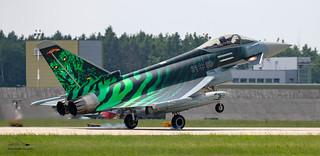 German Air Force Typhoon Eurofighter