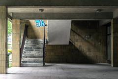VŠB (Maciej Dusiciel) Tags: architecture architectural stairs modern modernism czech ostrava europe world travel decay urban sony alpha