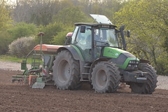 Deutz Fahr Agrotron 150.7 Tractor with an Amazone ADP 3000 Special Seed Drill & Power Harrow (Shane Casey CK25) Tags: deutz fahr agrotron 1507 tractor amazone adp 3000 special seed drill power harrow conna aghern sdf df samedeutzfahr deutzfahr spring barley green traktor trekker traktori tracteur trator ciągnik sow sowing set setting drilling tillage till tilling plant planting crop crops cereal cereals county cork ireland irish farm farmer farming agri agriculture contractor field ground soil dirt earth dust work working horse horsepower hp pull pulling machine machinery grow growing nikon d7200