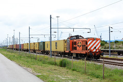 CP 1412 (Nelso M. Silva) Tags: cp 1400 1412 locomotiva diesel ria de aveiro porto contentores teco mercadorias