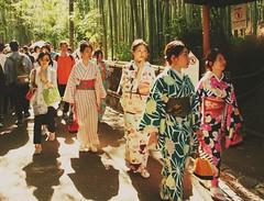 2018-06-05_12-00-50 (jumppoint5) Tags: arashiyama kyoto kimono japan pathofbambo light together street shadows