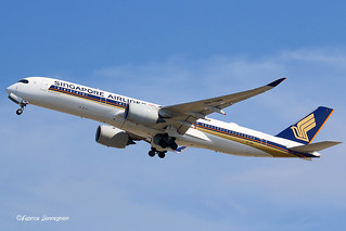 9V-SMK Singapore Airlines Airbus A350-941